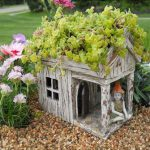 Wooden House Planter | Fairy Wonderland | Products | Unique Containers