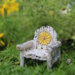 Itty Bitty daisy chair | Fairy Wonderland | Products | itty bitty stone bridge
