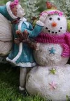 Aubrey's First Snowman