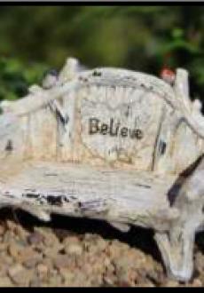 Believe Bench