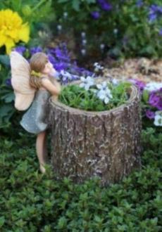 Fairy Stump Planter