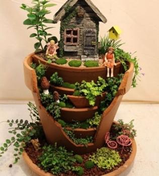 Why miniature fairy gardening?