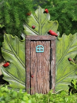 Maple Leaf Door